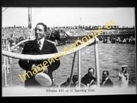 Alfonso XIII en el Sporting-Club