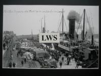 Melilla - Aspecto del Muelle en un día de embarque
