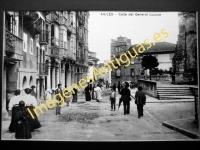 Avilés - Calle del general Lucuce