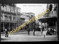 Avilés - Calle del Marqués de Feverga