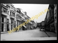 Avilés - Calle del Generalísimo Franco