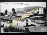 Avilés - Pescadería, Puente metálico y Fábrica de Castro