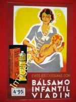 BÁLSAMO INFANTIL VIADIN, EVITE ESCOCEDURAS