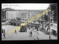 Bilbao - Plaza Arriaga y Puente de Isabel II