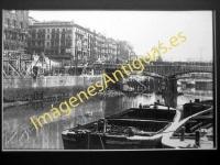 Bilbao - Puente del Arenal, reconstruccion despues de la guerra
