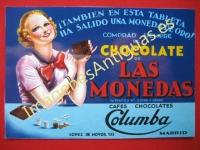 CHOCOLATES LAS MONEDAS - CAFÉS CHOCOLATES COLUMBA