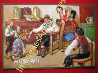 CHOCOLATES MATIAS LOPEZ - MADRID-ESCORIAL-SEVILLA