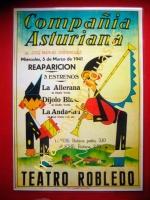 COMPANÍA ASTURIANA - TEATRO ROBLEDO, GIJÓN - ASTURIAS