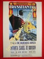 COMPANÍA TRASATLÁNTICA ESPAÑOLA - LINEA DE BUENOS AIRES