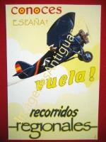 CONOCES ESPAÑA? VUELA! RECORRIDOS REGIONALES