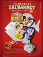 CONSERVAS SALVARREY - FABRICAS EN LAREDO, VINAROZ, ALGECIRAS