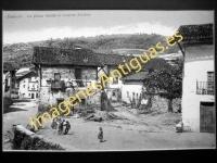 Ceánuri - La plaza desde el puente Alcibar