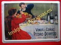 Chapa Publicitaria, Vinos y Coñac Pedro Domecq
