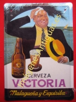 Chapa Publicitaria, Cerveza Victoria