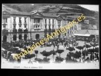 Eibar - Plaza de Alfonso XIII
