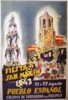 FIESTA DE SAN MAGIN 1943, TARRAGONA