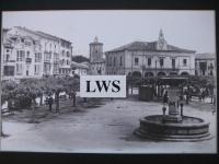 Villarcayo - Fuente y Plaza Mayor