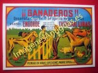¡GANADEROS! ENGORDE CASTELLANO LIRAS - MEJORES CRÍAS