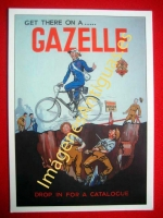 GET THERE ON A...GAZELLE