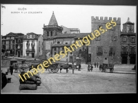 Gijón - Subida á la Colegiata