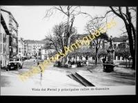 Guernica - Vista del Ferial y principales calles