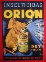 INSECTICIDAS ORION D.D.T. Y PELITRE