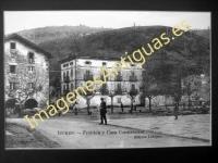Ituren - Frontón y Casa Consistorial