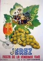 JEREZ - FIESTA DE LA VENDIMIA 1948