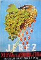 JEREZ - X FIESTA DE LA VENDIMIA Y FERIA 1957