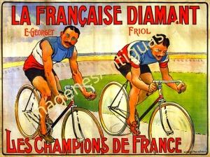 LA FRANÇAISE DIAMANT - LES CHAMPIONS DE FRANCE