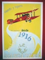 LE RHONE MARCA LIDER - RAPIDO Y LIGERO DESDE 1916
