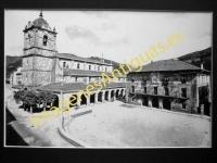 Legazpia - Iglesia parroquial y Ayuntamiento