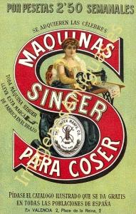 MAQUINAS SINGER PARA COSER
