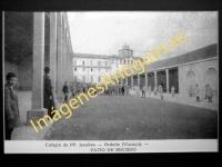 Orduña - Colegio de PP. Jesuitas -- Patio de recreo