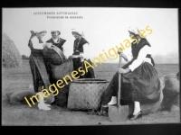 Costumbres Asturianas - Penerando la Escanda