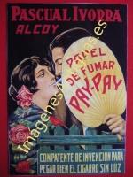 PAPEL DE FUMAR PAY-PAY - ALCOY - VALENCIA