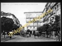 Pamplona - Calle Héroes de Estella y Plaza Constitución