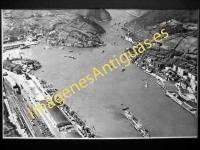 Pasajes - Vista aérea del puerto