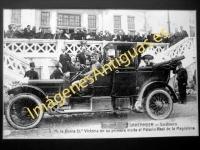 Sardinero S. M. la Reina Dª Victoria en su primera visita