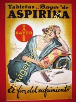 TABLETAS BAYER DE ASPIRINA