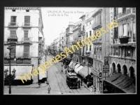 Valencia - Plaza de la Reina y calle de la Paz
