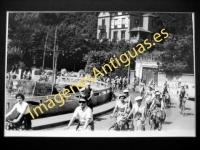 Zumaya - La Gira de la vuelta de La Costa el 18 de julio de 1957